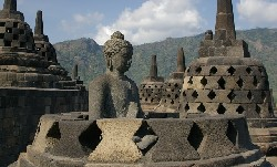 Borobudur Java Indonesie