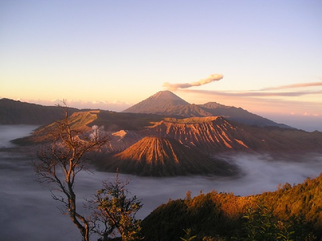 Bromo Vukaan Java Indonesie