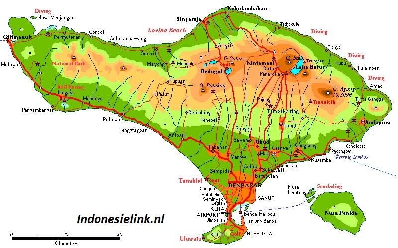 Bali startpagina bali indonesie informatie tips nieuws forum kaart van bali indonesie altavistaventures Gallery